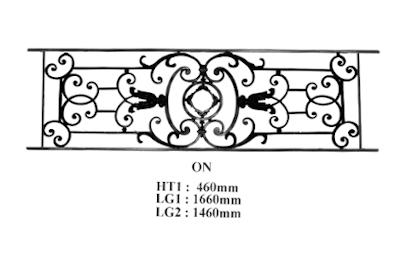 grille de balcon garde corps fonderie loiselet. Black Bedroom Furniture Sets. Home Design Ideas