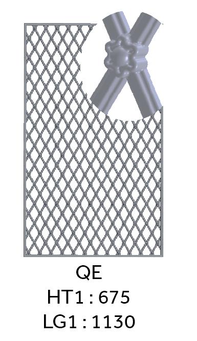 grille de porte grille de d fense grille de s paration fonderie loiselet. Black Bedroom Furniture Sets. Home Design Ideas