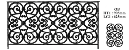 balustrade balustre rambarde fonderie loiselet. Black Bedroom Furniture Sets. Home Design Ideas