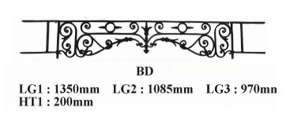 barre d 39 appui garde corps bd fonderie loiselet. Black Bedroom Furniture Sets. Home Design Ideas